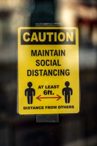 Distancing by UWB