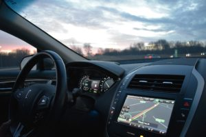 Autonomous vehicles UWB